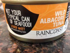 raincoast tuna